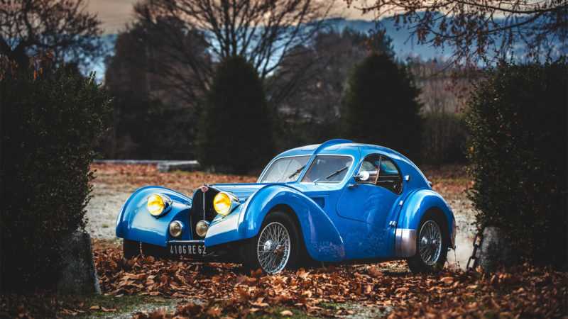"""Bugatti Atlantic"" by Koux - Retromobile 2019 - ARTCURIAL"