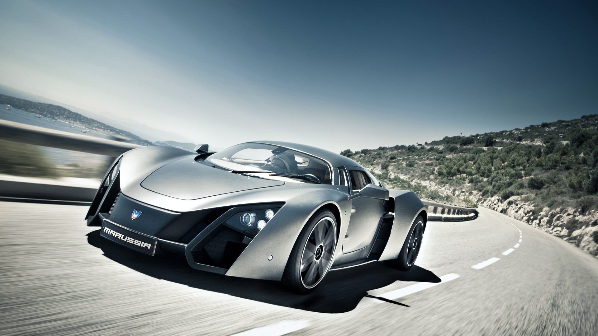 Marussia B2 Commercial Shooting - Automotive Photography by Loïc Kernen