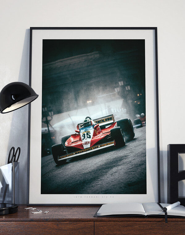Ferrari 312 T3 in Monaco Main image