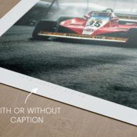 Ferrari 312 T3 in Monaco Caption Choice