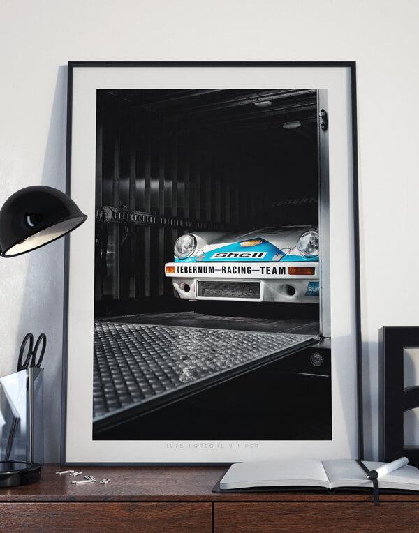 Porsche 911 RSR Racecar, Porsche Prints - Automotive Photography Prints and Wall Art by LOIC KERNEN