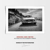 Ferrari 250 in Monaco in Black & White, Ferrari Prints - Automotive Photography Prints and Wall Art by LOIC KERNEN