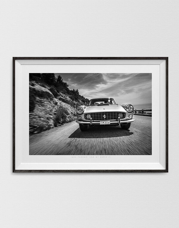 Ferrari 250 in Monaco in Black & White, Ferrari Prints - Automotive Photography Prints and Wall Art by LOIC KERNEN