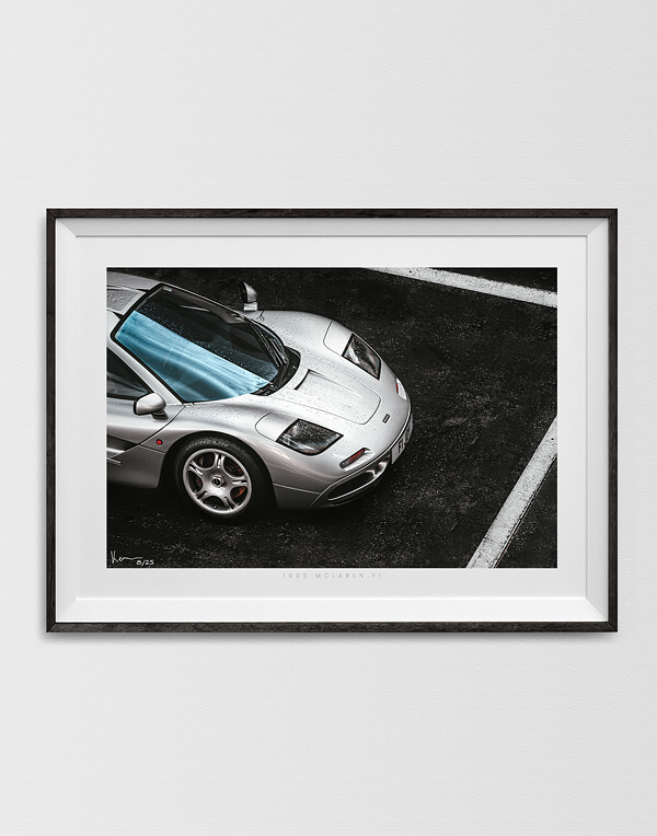 McLaren F1 Print, Automotive Prints, Gifts and Wall Art