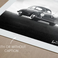 Porsche 356 Print, Porsche Black and White Wall Art, Gift and Decor Ideas