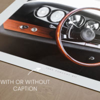 Porsche 911 Interior Dashboard Print, Automotive Wall Art and gifts