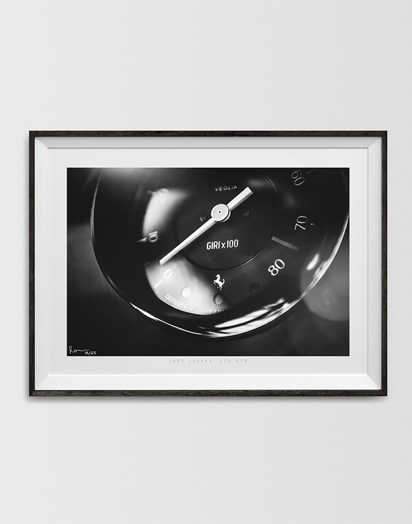 Vintage Ferrari Print, Black & White Photo, Automotive Prints, Gifts and Wall Art