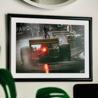 Vintage Formula 1 Print, Wall Art, Gift and Decor Ideas