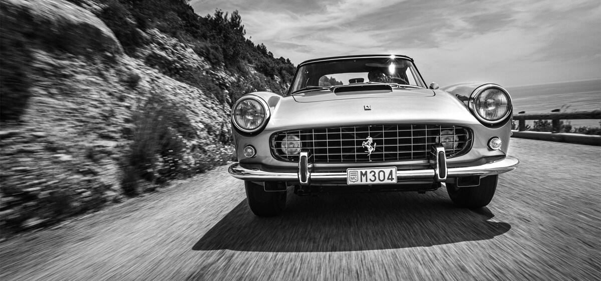 Black and White Car Photography by Loic KERNEN