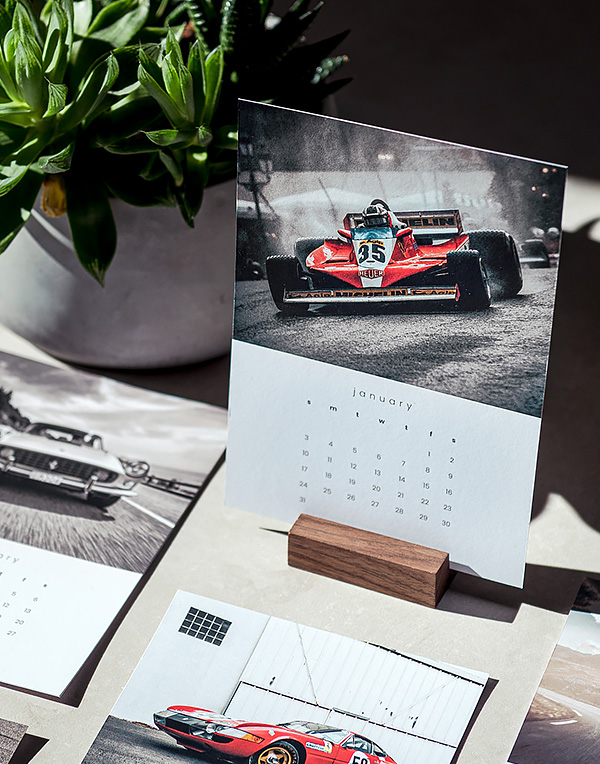2021 Classic Car Calendar, Office Decor for men and Christmas Gift